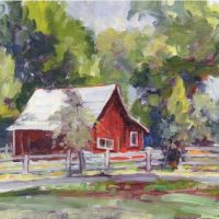 12-red-horse-barn